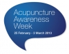 Acupuncture Awareness Week logo